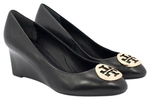 Tory Burch 35058 Black/Gold Wedges