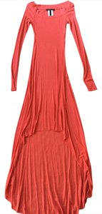 Coral Maxi Dress by BCBGMAXAZRIA