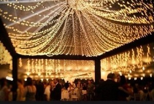 600 Warm Romantic Reception Lights