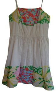 Lilly Pulitzer short dress White Floral on Tradesy