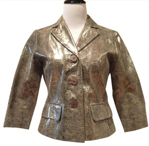 Margaret Godfrey Leather Jacket