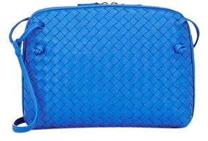 Bottega Veneta Nappa Intrecciato Cross Body Bag