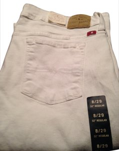 Lucky Brand Jeans Boot Cut Pants White