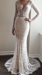 Berta bridal white ivory lace style 15 107 formal wedding dress size berta bridal white ivory lace style 15 107 formal wedding dress size 4 s junglespirit Image collections