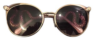 Just Cavalli Just Cavalii Snake Motif Cat Eye Sungasses