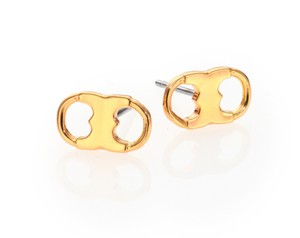 Tory Burch New Tory Burch Gemini Link Studs in 16k Gold