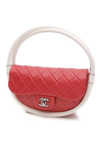 Chanel Satchel in Red, white