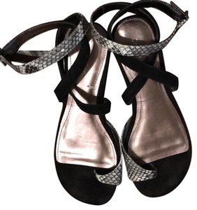 Calvin Klein black and white. Sandals