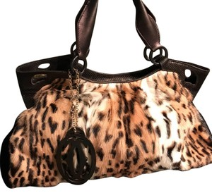 Cartier Satchel in Leopard Print