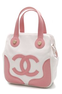 Chanel Satchel in Pink, ivory