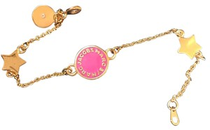 Marc by Marc Jacobs pink logo marc by Marc Jacob bracelet new with tag