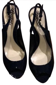 Gucci Dark Navy Blue Pumps