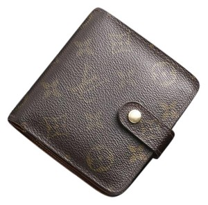 Louis Vuitton Louis Vuitton Monogram Zip-Compact Bifold Wallet 10351