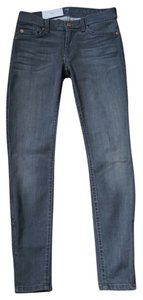 7 For All Mankind Ankle Zippers Skinny Jeans