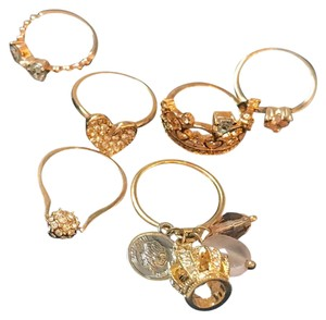 bundled set of rings total of 6 great collection bundle sale