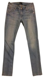 Hudson Straight Leg Jeans-Light Wash