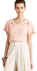 Anthropologie Top Peach
