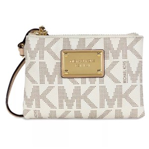MIA Wristlet in White
