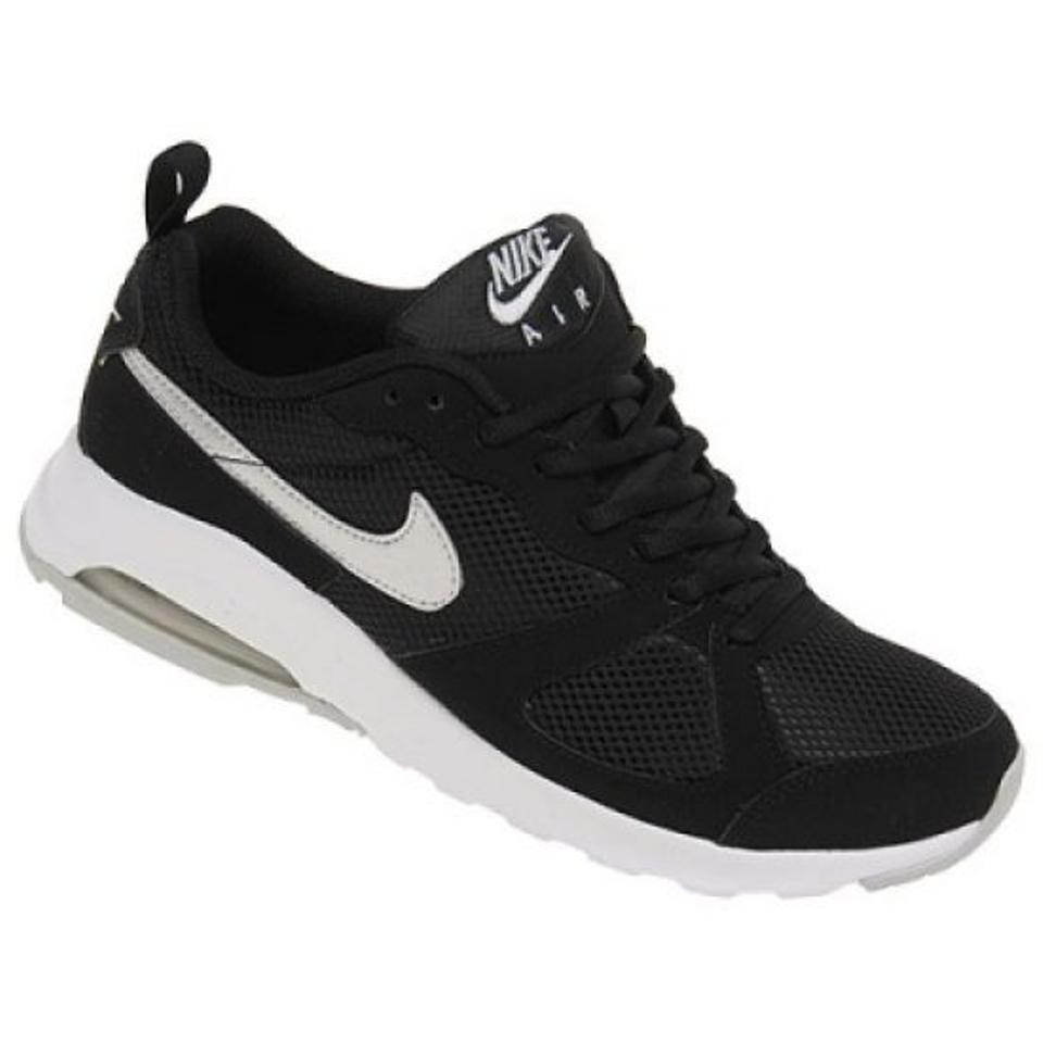 Nike Black Air Max Muse Sneakers 654729-011 White Platinum Women Sneakers Muse 6a8839