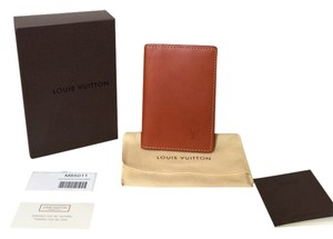 Louis Vuitton Louis Vuitton Nomade Camel Pocket Organizer