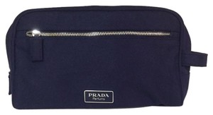 Prada Prada parfums travel nylon pouch cosmetic black