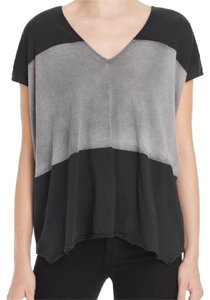 Rag & Bone T Shirt Black/Gray