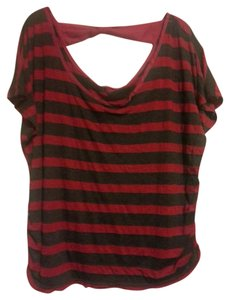 Julie's Closet T Shirt Black and Red