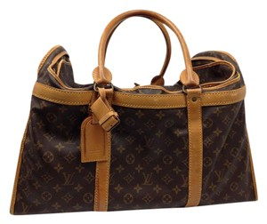 Louis Vuitton Vintage Collectable Rare Weekend/travel Monogram Brown Travel Bag
