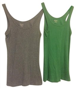Mossimo Supply Co. Top Green and Grey