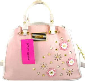 Betsey Johnson Satchel in Pink