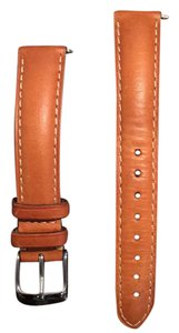 Michele 16mm Saddle Calfskin Leather watch strap