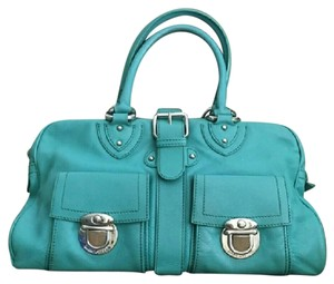Marc Jacobs Satchel in Green/ Turquoise