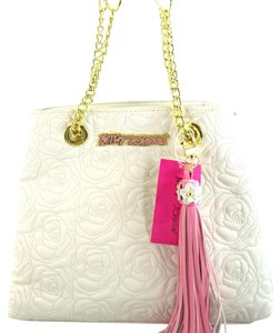 Betsey Johnson Tote in Cream