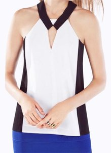 BCBGMAXAZRIA Top Black and White combo