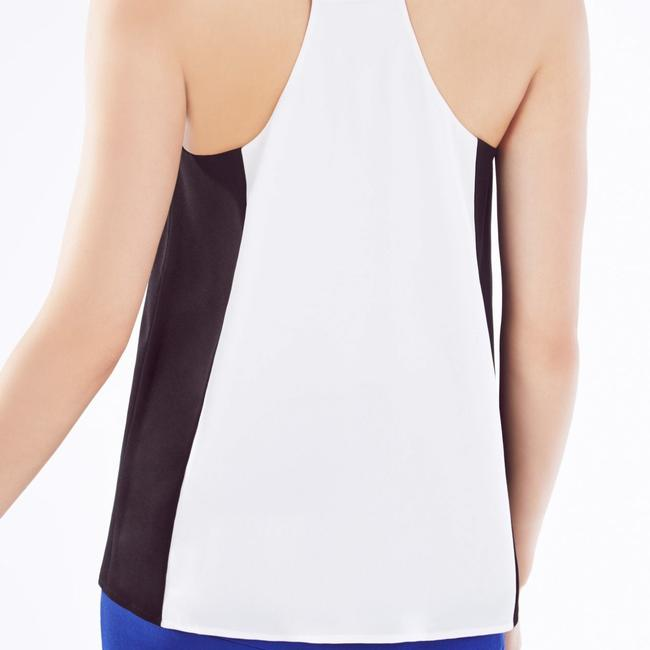 BCBGMAXAZRIA Top Black and White combo Image 2