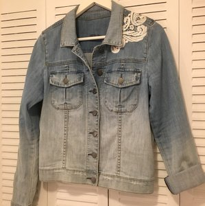 KUT from the Kloth Washed Denim Womens Jean Jacket