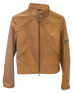 Tombolini Butterscotch. Leather Jacket