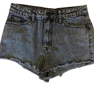 Urban Outfitters Cut Off Shorts black