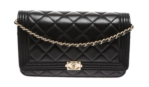 Chanel Woc Wallet On Chain Boy Cross Body Bag