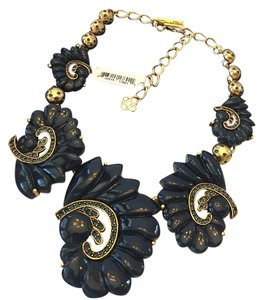 Oscar de la Renta OSCAR DE LA RENTA NWT RESIN SWIRL AND CRYSTAL NECKLACE ($850) W/TAX