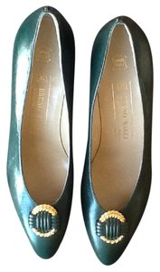 Bruno Magli dark green Pumps