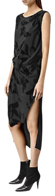 Item - Black Riviera Lux Mid-length Casual Maxi Dress Size 6 (S)