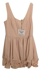 Angel Biba short dress peach/light pink on Tradesy