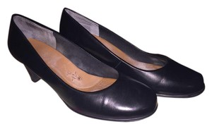 Ros Hommerson Kid Leather Vintage-look black Pumps