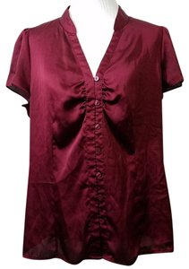 Worthington Top Burgundy