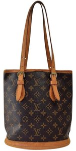 Louis Vuitton Bucket Bucket Pm Neverfull Speedy L V Tote in Brown