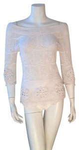 Nougat London Embroidered Top White