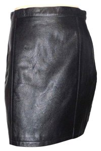Wilsons Leather Skirt Brown