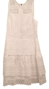 Parker short dress white on Tradesy