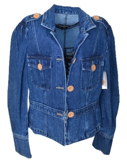 Preload https://item5.tradesy.com/images/mixit-denim-miltary-jacket-size-12-l-2089874-0-0.jpg?width=400&height=650